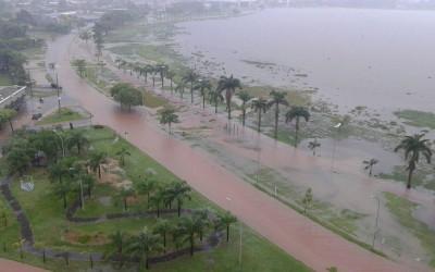 Inmet alerta para chuva forte em Três Lagoas até o fim da noite