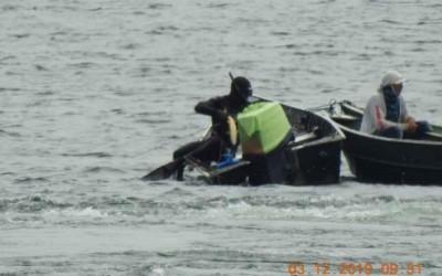 Mergulhador é preso pescando com arpão próximo da barragem de hidrelétrica de Jupiá