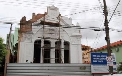 Obras de restauração do Consulado Português estão quase 50% concluídas