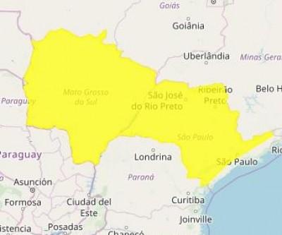 Tempo 'vira' e Inmet faz alerta de tempestade para Três Lagoas e outras cidades de MS