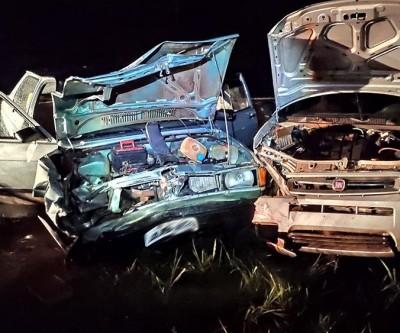 Colisão de dois veículos na rodovia de Andradina deixa 7 feridos
