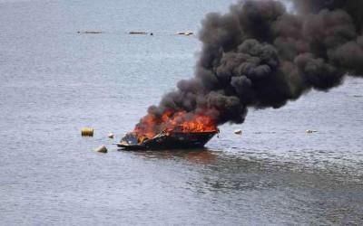 Dois homens sofrem queimaduras após explosão de lancha em Araçatuba