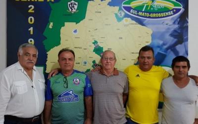 Ramão Massena protocola pedido de filiação do Três Lagoas Sport Club junto a FFMS e CBF