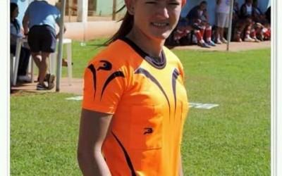 Três-lagoense Daiane Muniz ira apitar a segunda partida do Campeonato Estadual