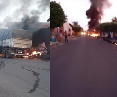 Carreta é incendiada em Paranaíba e perícia encontra indicio de ação criminosa
