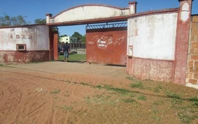 Durante o feriado, estádio da Aden tem fiação elétrica furtada