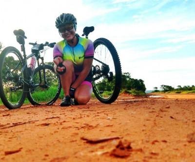 Moradora de Três Lagoas conta como a bicicleta mudou sua vida