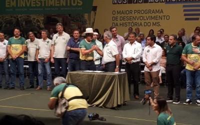 Guerreiro e governador Reinaldo assinam termo de compromisso para obras em Três Lagoas