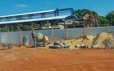 Construção da nova Feira Livre de Três Lagoas continua a todo vapor