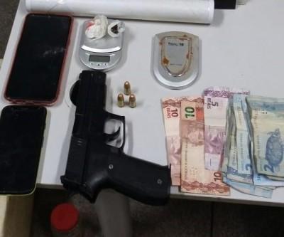 """Morador do Condomínio """"Araras"""" no Novo Oeste é preso pela SIG de Três Lagoas"""
