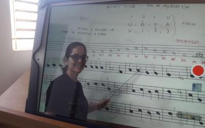 Aulas de música da Diretoria de Cultura continuam de maneira online durante pandemia