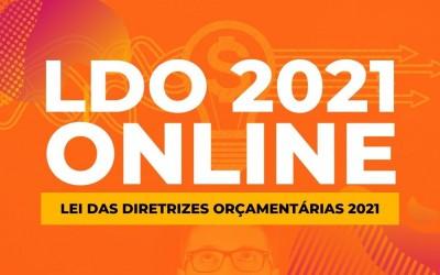 No formato online, Audiência Pública da LDO 2021 acontece nesta segunda-feira