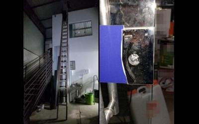 Ladrão é preso em flagrante furtando loja de construção no Alto da Boa Vista
