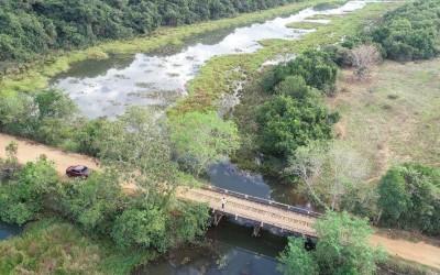 Prefeitura autoriza construção de pontes de concreto nos córregos Agua Tirada e Lagoa Amarela