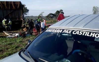 Acidente entre caminhões mata duas pessoas na Rodovia dos Barrageiros