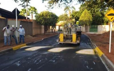 Mais uma obra de asfalto é finalizada pela prefeitura de Três Lagoas