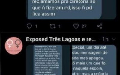 Acusado de assédio no Twitter, inspetor de alunos procura a delegacia em Três Lagoas