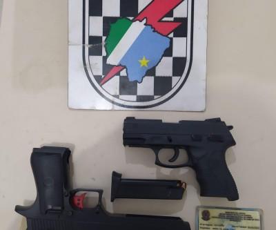 Briga de vizinhos termina com apreensão de duas pistolas em Três Lagoas
