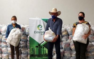 Eldorado doa mais de 4 mil cestas básicas e 121 mil máscaras ao município de Três Lagoas