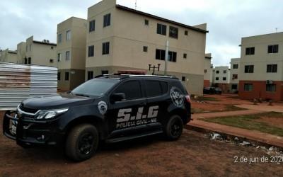 Operação Helieia cumpre oito mandados de prisão contra o crime organizado em Três Lagoas