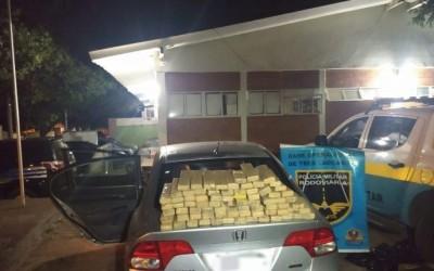 Polícia Rodoviária de Três Lagoas apreende mais de 70 Kg de maconha na região de Brasilândia