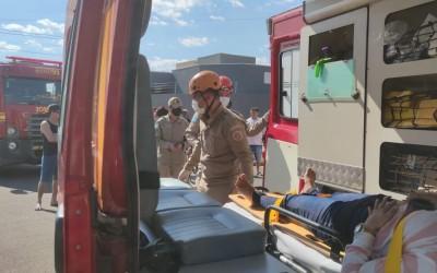Acidente no Nova Três Lagoas mobiliza equipes do Corpo de Bombeiros