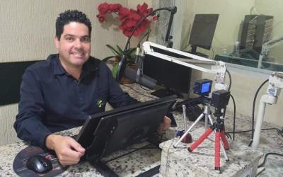 Após 15 anos no ar, jornalista Fábio Campos deixa o programa Ronda Policial e lança pré-candidatura a vereador
