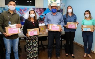 Empresa Passaletti doa 3 mil máscaras cirúrgicas para ajudar Três Lagoas no enfrentamento da COVID-19