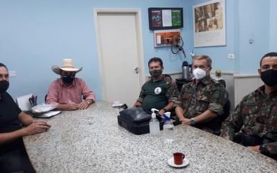 Novo comandante da PMA trabalha pela aproximação com o produtor rural