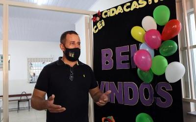 """Prefeitura de Três Lagoas entrega obra de readequação do CEI """"Cida Castro"""""""