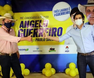 Convenção do PSDB define Angelo Guerreiro e Paulo Salomão para a Prefeitura de Três Lagoas