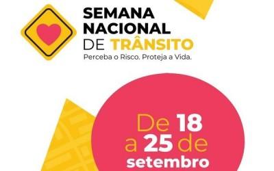 De forma virtual, Semana Nacional do Trânsito é lançada em Três Lagoas