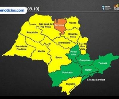 Araçatuba permanece na fase amarela da flexibilização da quarentena