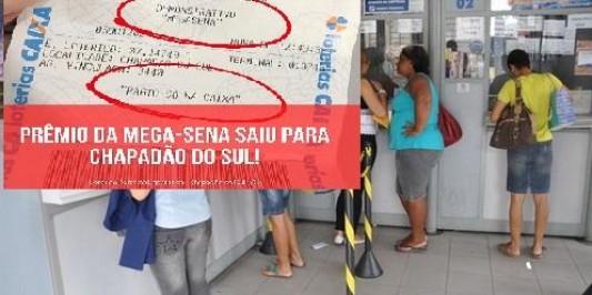Quase Milionário: Apostador de Chapadão do Sul acerta a Quina da Mega Sena e vai receber R$ 47.955,93
