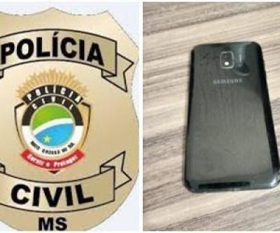 Polícia Civil rastreia e apreende celular furtado de hotel; uma pessoa foi detida