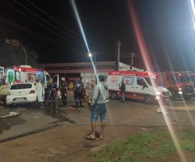 Polícia flagra cerveja e cocaína após acidente com 7 feridos