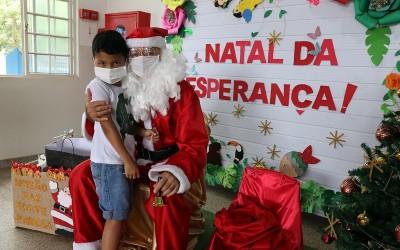 """CEI realiza projeto """"Natal da Esperança"""" trabalhando amor e solidariedade com as mais de 180 crianças"""