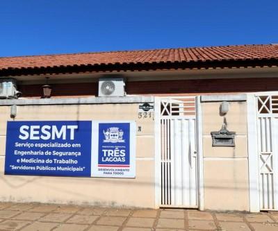 SESMT de Três Lagoas passará a funcionar em novo endereço a partir de segunda-feira