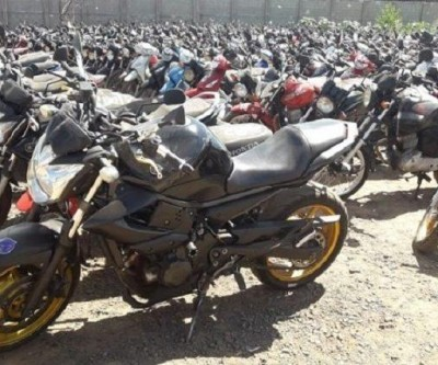 Detran-MS realiza leilão de 178 lotes de veículos para circulação