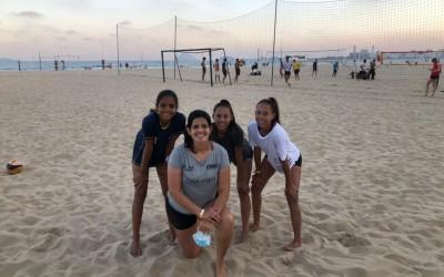 Atletas de Três Lagoas estão no Rio de Janeiro para participar do Circuito Brasileiro de Vôlei de Praia Sub17, Sub19 e Sub21