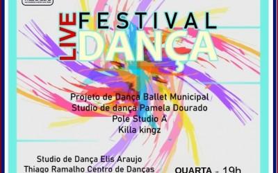 Diretoria de Cultura de Três Lagoas realiza 2ª Live Festival Dança