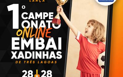 Termina nesta quarta (28) as inscrições para o 1º Campeonato Online de Embaixadinhas