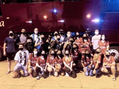 Equipes da SEJUVEL estão em Ponta Porã na disputa do Campeonato Estadual de Basquetebol Sub-17