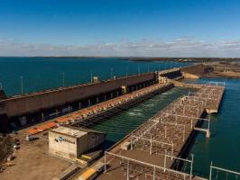 Hidrelétrica de Ilha Solteira vai a 0% no volume de água