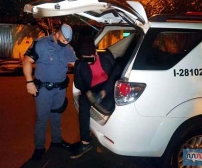 Desempregado é preso pela PM ao roubar R$ 1,7 mil de primos em Andradina (SP)