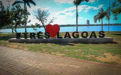 """Letreiro """"AMO TRÊS LAGOAS"""" é aprovado pela população três-lagoense"""