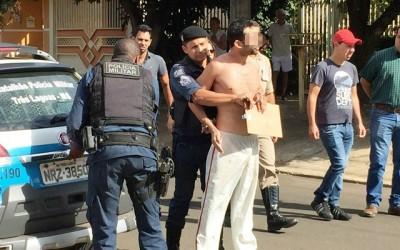 """Jovem """"surta"""" e mobiliza cinco viaturas após briga e ameaças com arma de fogo"""