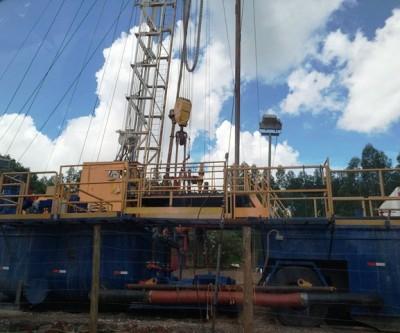 Petrobras continua o trabalho de lacração no Poço do Palmito