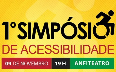 I Simpósio de Acessibilidade da AEMS está com inscrições abertas