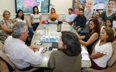 Angelo Guerreiro interage com grupo gestor Três Lagoas Sustentável